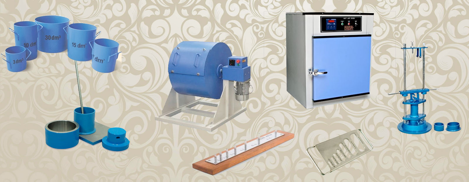 Aggregate Testing Lab Equipment