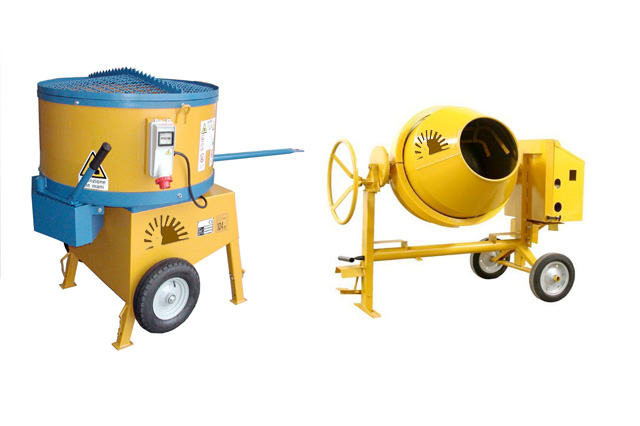 Concrete Pan mixers