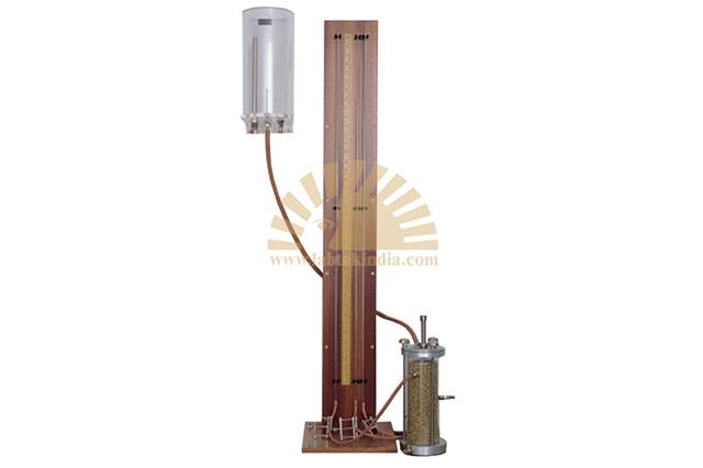 Falling head permeability apparatus