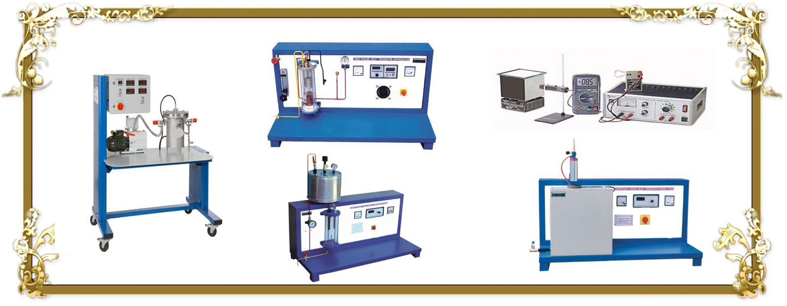 Heat and Mass Transfer Lab Equipment
