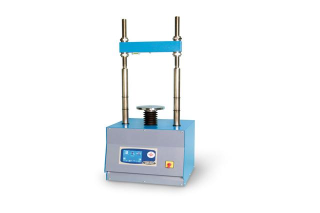 Load frame for universal compression test of rocks 12 speed 200 kn