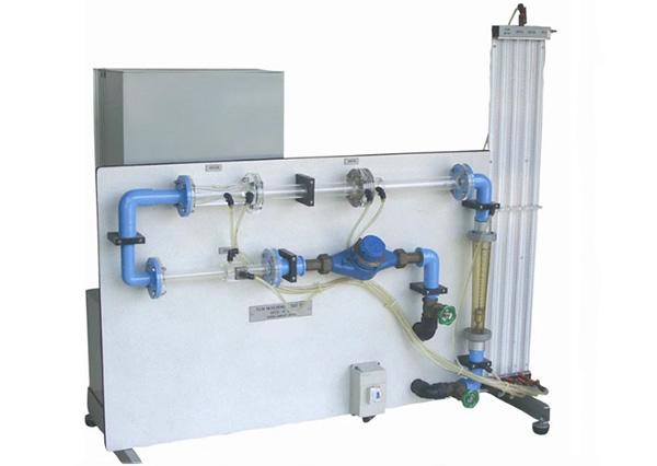 Orifice and Venturi meter demonstrator
