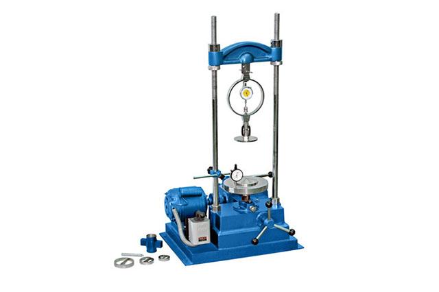 Unconfined Compression Testing apparatus