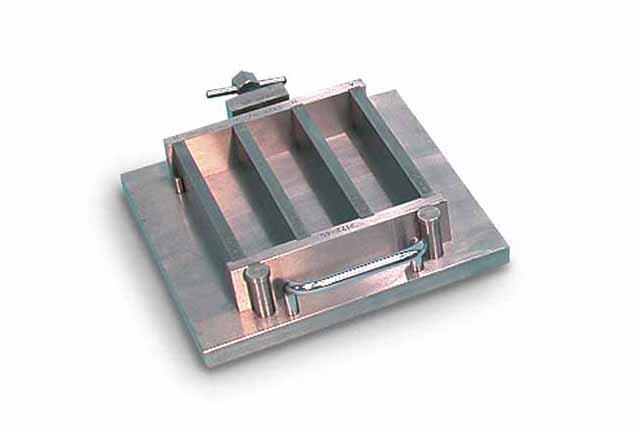 Hydraulic shrinkage mould 40x40x160 mm