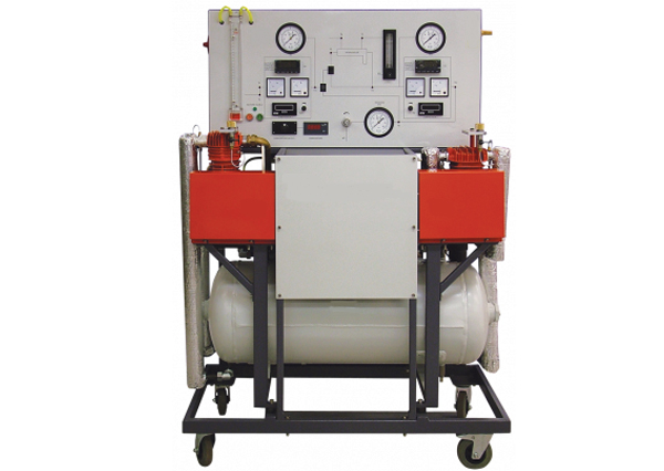 Computerised Two Stage Air Compressor Test Bench