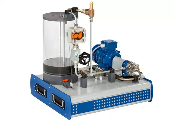 Computerised Gear Pump Test Rig