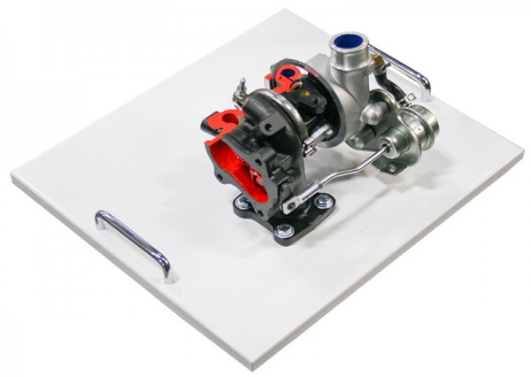 Cut Model Of Turbo Charger