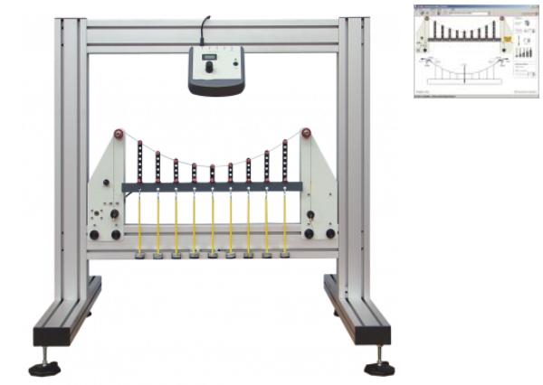 Simple Suspension Bridge Experiment