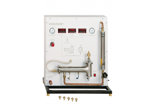 Steam Nozzle Performance Apparatus with Compressor