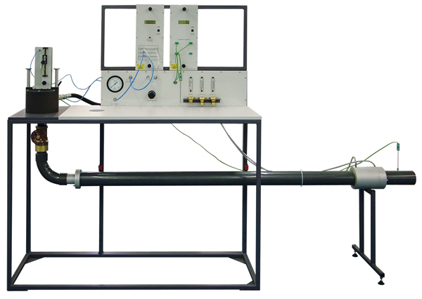 Subsonic Air Nozzle Test Setup