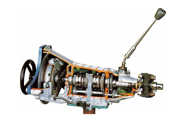 Working Model Of Gear Box With Clutch