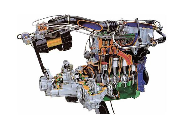 Working Model Of MPFI Petrol Engine