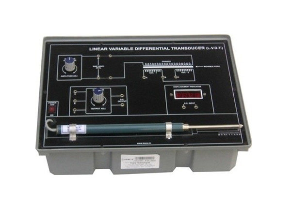 LVDT – Displacement Measurement Trainer