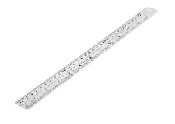 Metric Metal Ruler