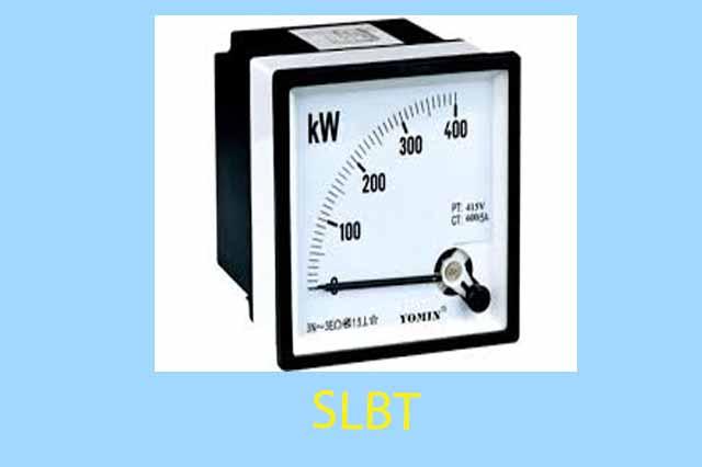 Watt meter - Analog (Panel Meter)