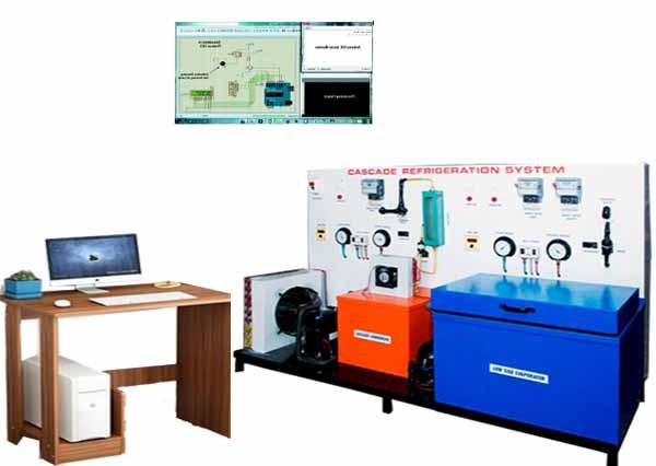Computerized Cascade Refrigeration Trainer