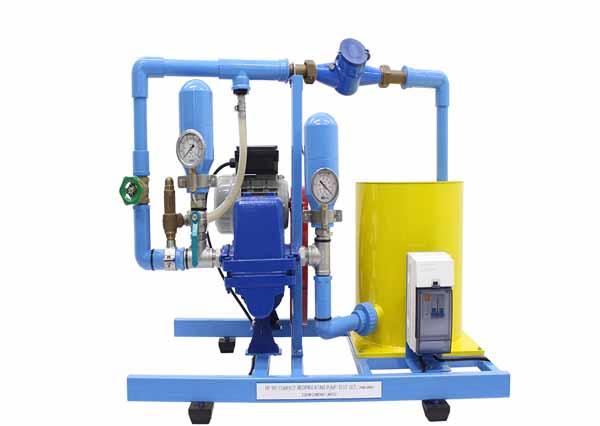 Reciprocating Pump Test Apparatus