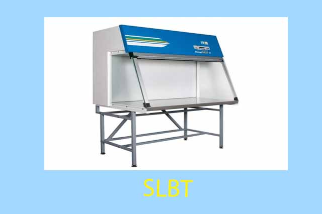 Laminar air flow cabinets or stations