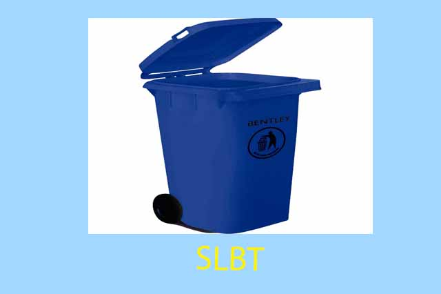 waste containers or rigid liners- Dust bin or Garbage Bin or Household Bin