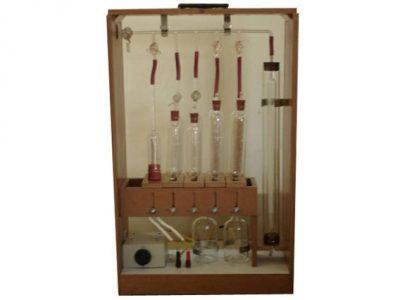 Orsat Gas Analysis Apparatus
