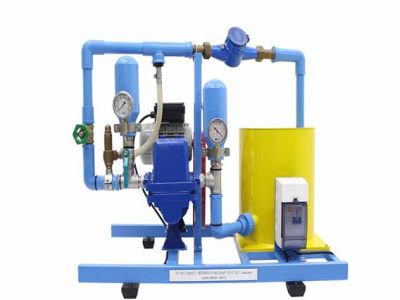 Reciprocating Pump Test Apparatus
